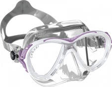 maska Cressi EYES Evolution crystal/lila