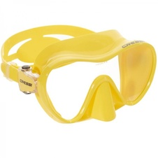 maska Cressi F1 Frameless yellow
