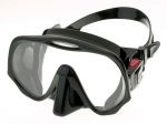 maska Atomic Aquatics FRAMELESS black