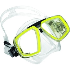 maska Technisub LOOK clear/lime