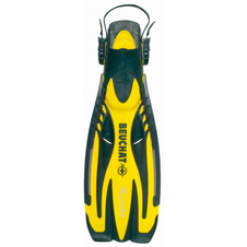ploutve Beuchat POWER JET ADJUSTABLE yellow