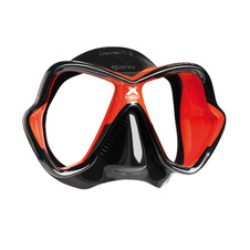 maska Mares X-VISION ULTRA Liquidskin black/red